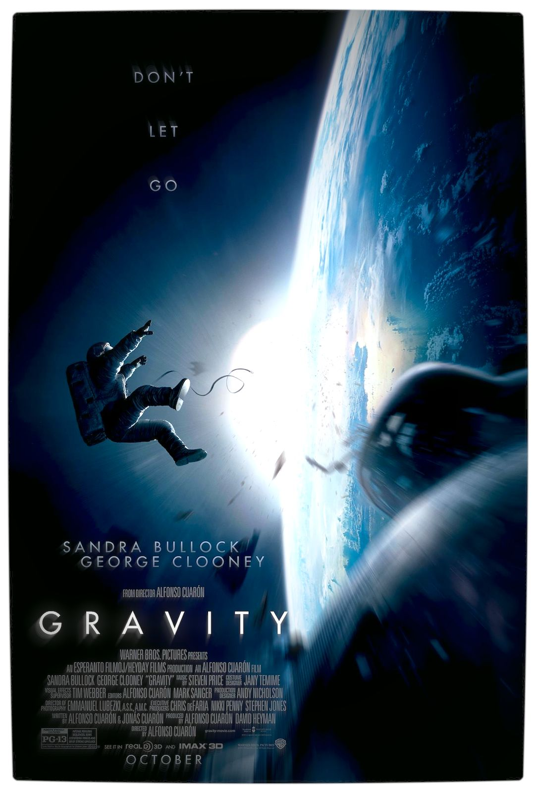 Gravity Official Trailers Gravity Movie George Clooney Gravity 2013
