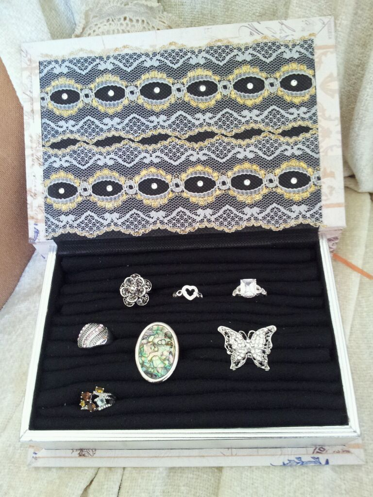 My first Jewelry box I made for my rings inspired me to create a