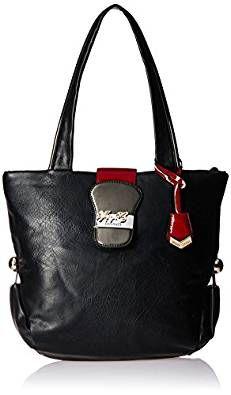 99bdc01fe61 Buy Gussaci Italy Women s Handbag (Black) (GC999) Online at Best Price in