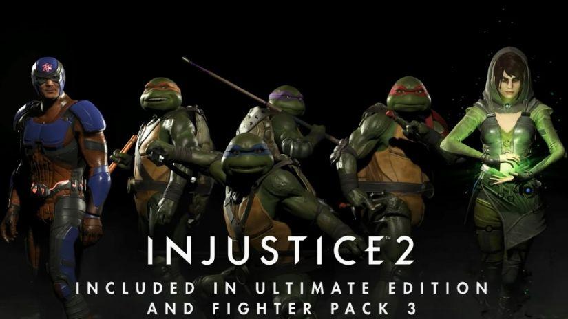 The Teenage Mutant Ninja Turtles Are Coming To Injustice 2 Teenage Mutant Ninja Turtles Tmnt Injustice 2