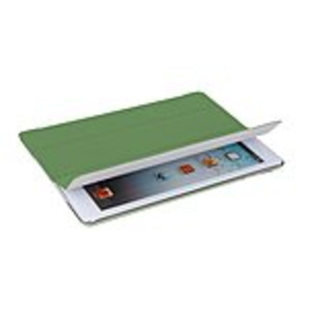 V7 Ultra Slim TA55-10-GRN-14N Folio Case for iPad Air - Green - Dust Resistant Interior, Scratch Resistant, Fingerprint Resistant, Impact Resistance Interior, Slip Resistant, Dirt Resistant, Drop Resistant - Polyurethane - Plastic