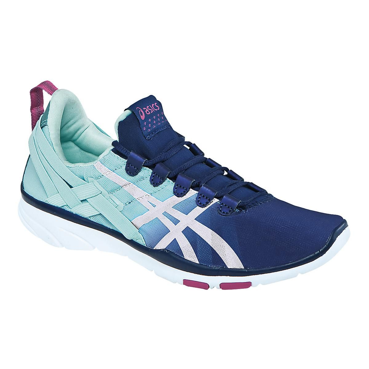 21585f363c01 Sink into the shoe that will take your training performance to the next  level, the Womens ASICS GEL-Fit Sana