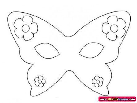 Okul öncesi Maske Kalıpları Googleda Ara Maskegözlüktac