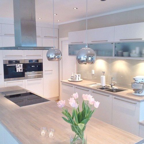 Pinterest @claudiagabg Decoration Pinterest Kitchens - kleine küche u form