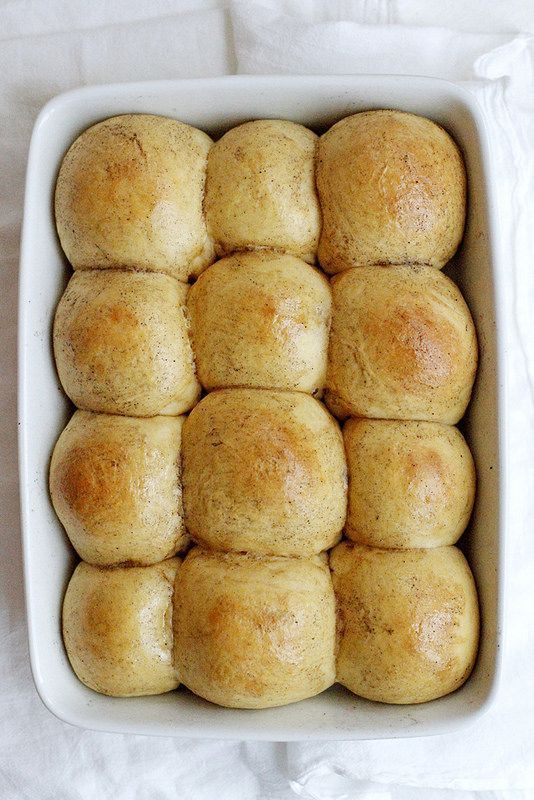 Brown Butter Sweet Potato Buttermilk Rolls Recipe Buttered Sweet Potatoes Brown Butter Holiday Baking Recipes