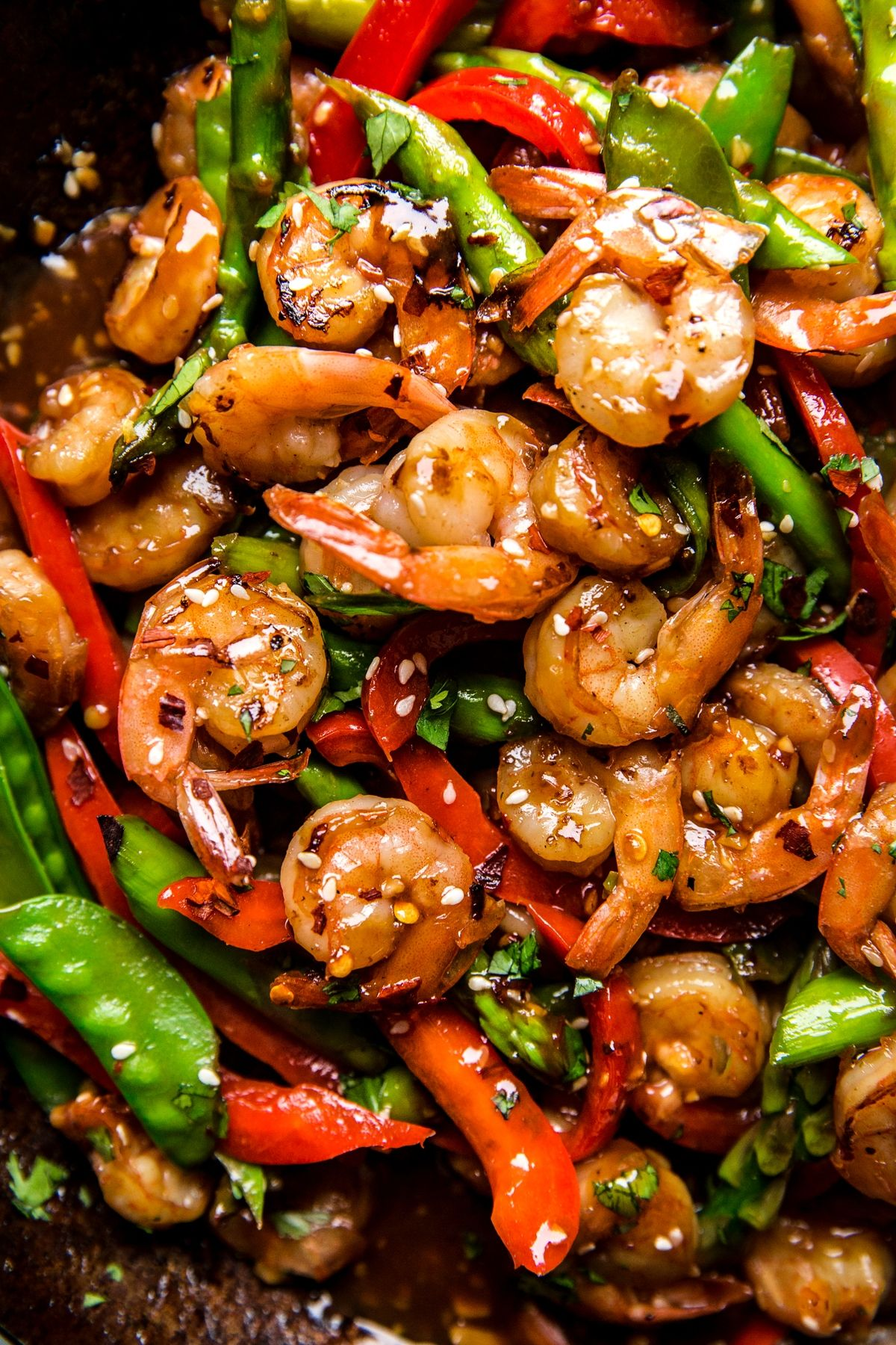 Garlic Shrimp Stir Fry | The Modern Proper