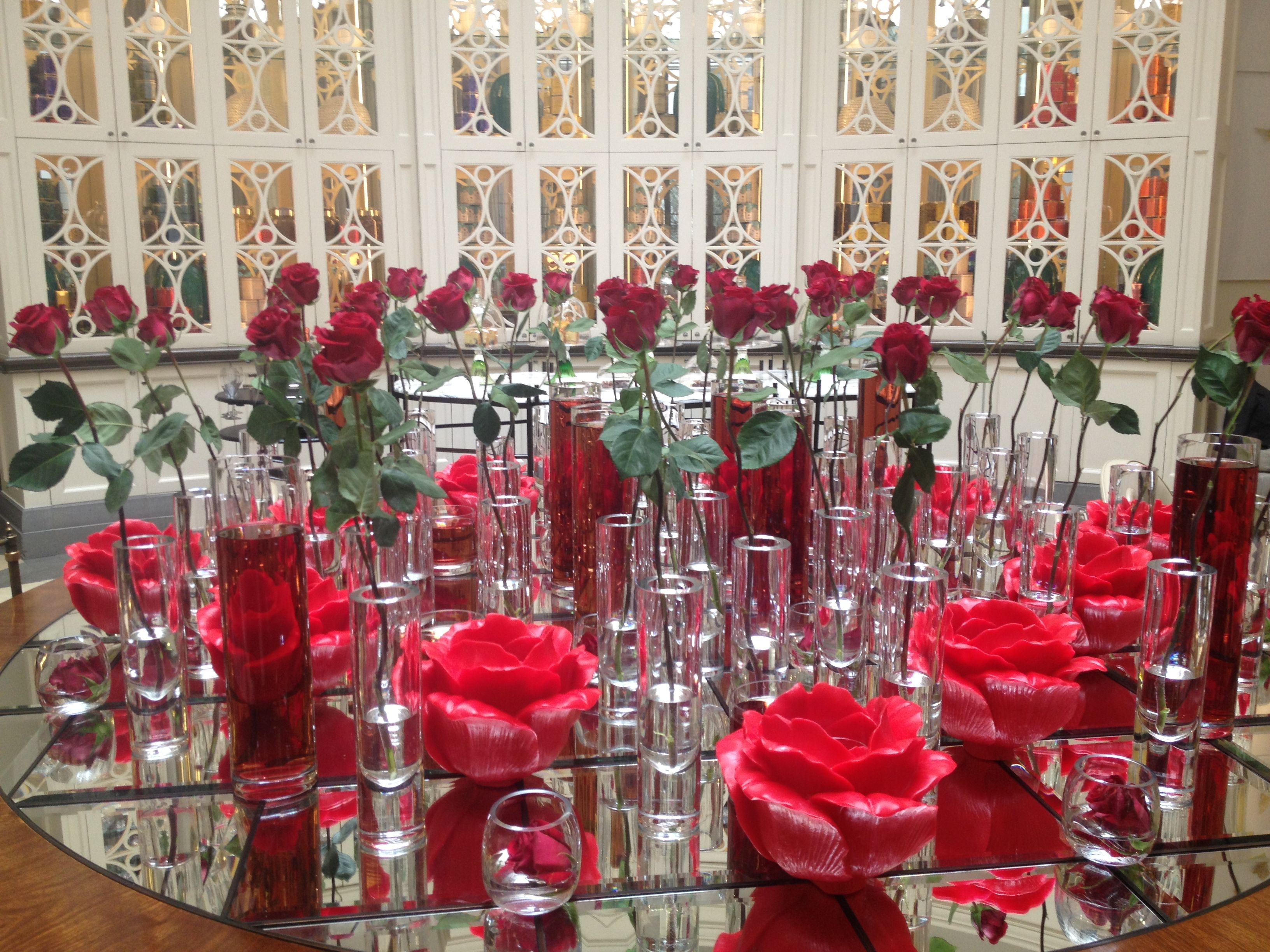 A Rose By Any Other Name Valentine S Flowers In The Lobby Lounge