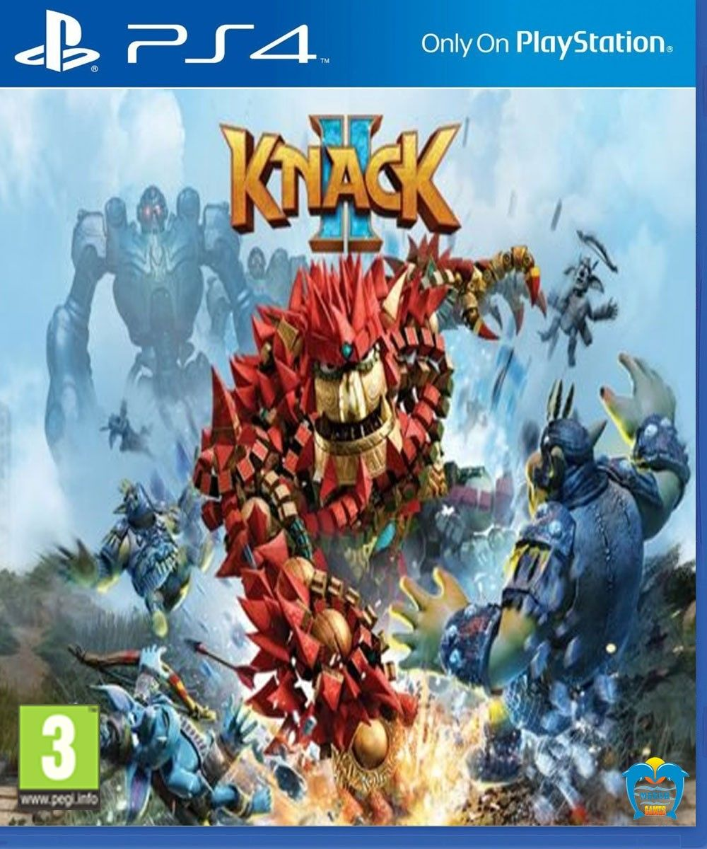Knack 2 | Ps4 Games | Ps4 games, Games, Ps4