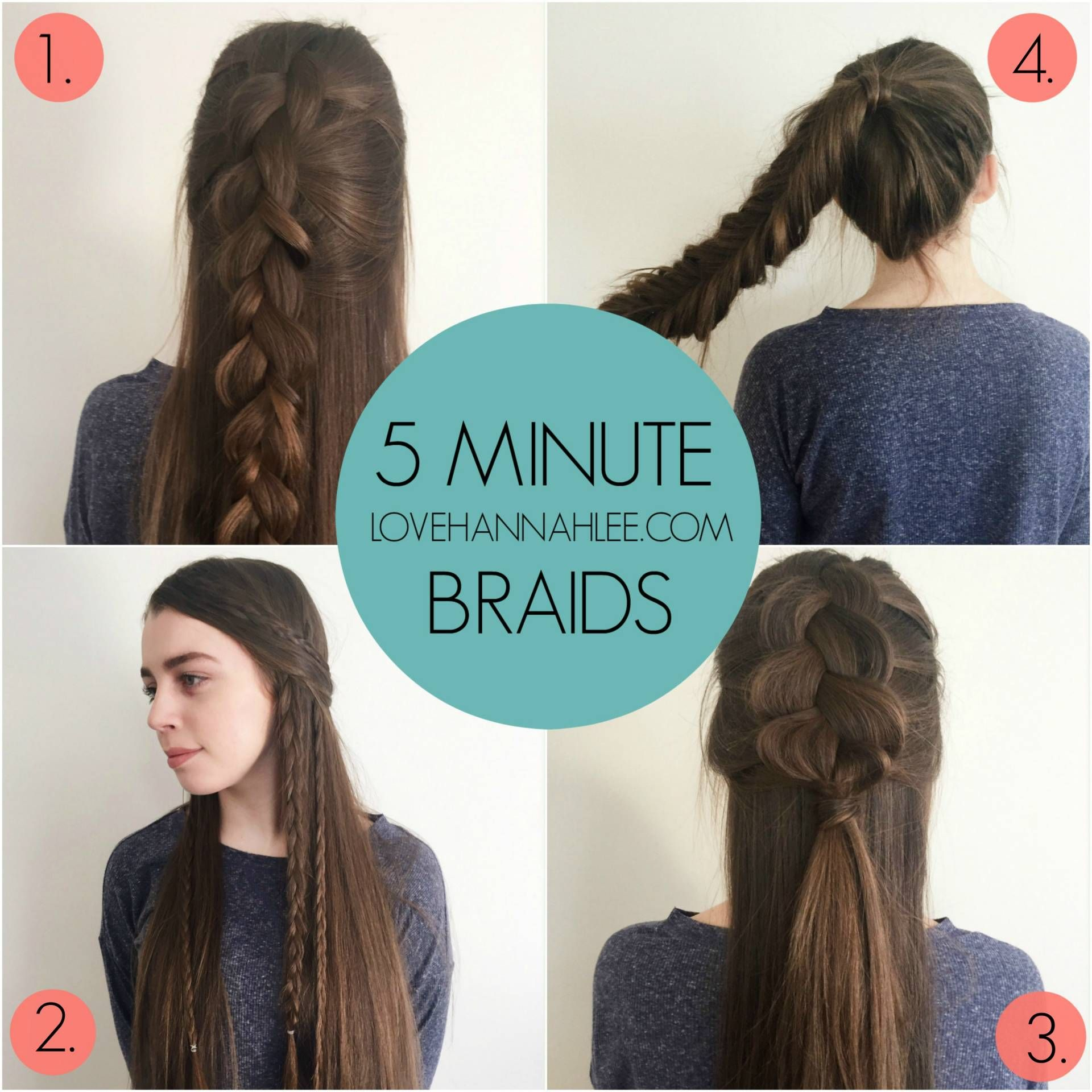 Gifts for your besite under hair tutorials by hannah lee
