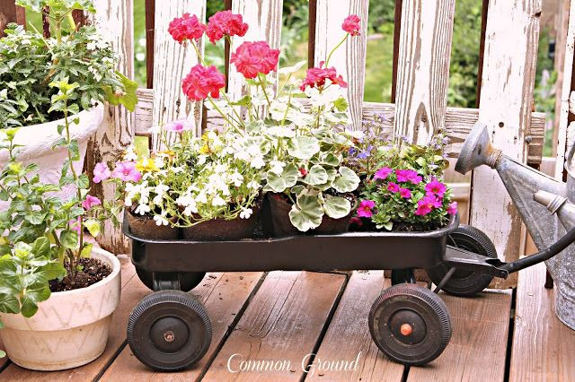 Common Ground: A Vintage Flower Wagon