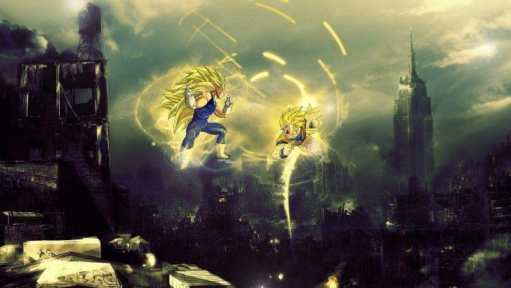 Super Saiyan 3 Vegeta Vs Goku Dragon Ball Z Anime Hd Wallpaper 1920