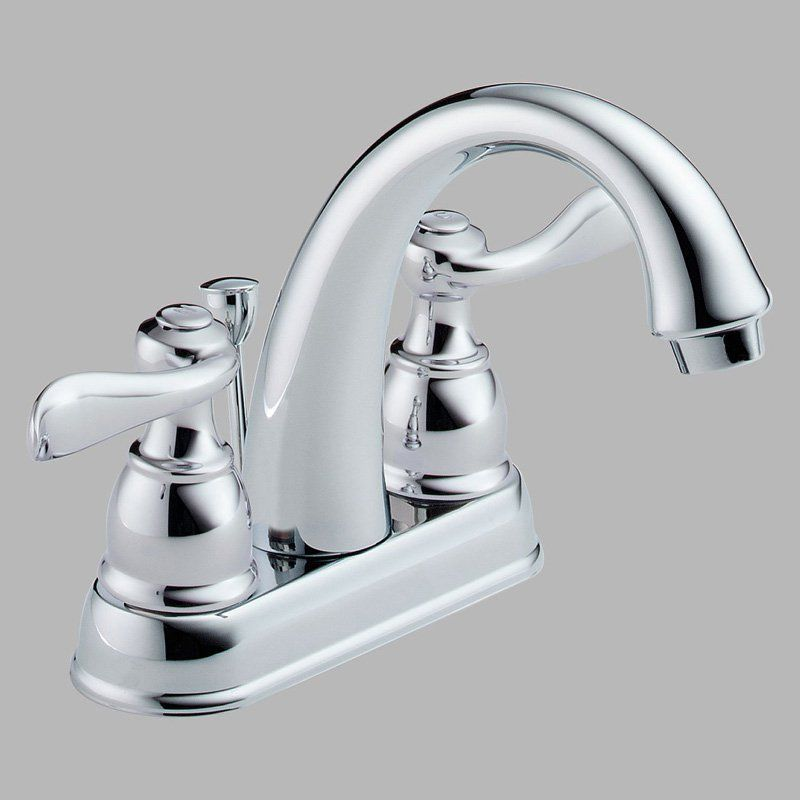 Delta Windemere B2596 Double Handle Centerset Bathroom Sink Faucet