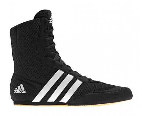 the latest dd6f3 1e0aa ADIDAS Box Hog 2 Adult Boxing Boot, Black White, US11  Adidas  Shoes