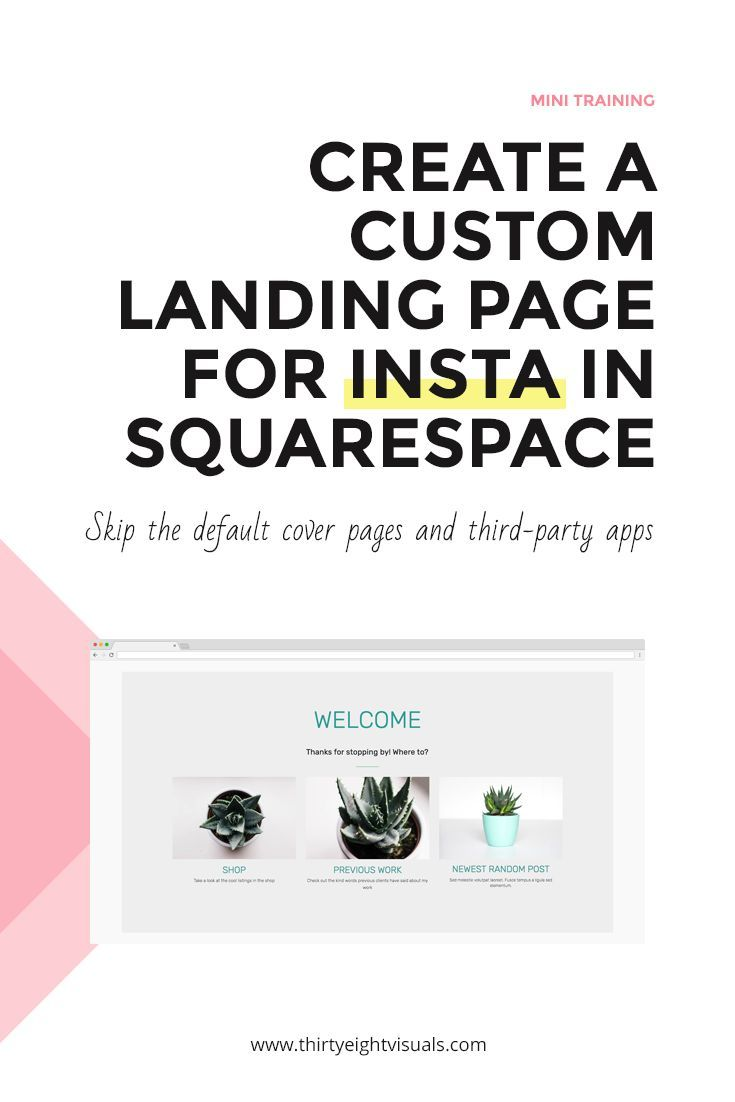 Make an impact with an onbrand landing page for your