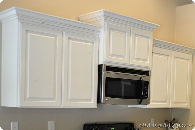 How to paint your kitchen cabinets {professionally} - All Things