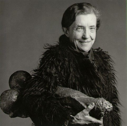 Louise Bourgeois by Robert Mapplethorpe