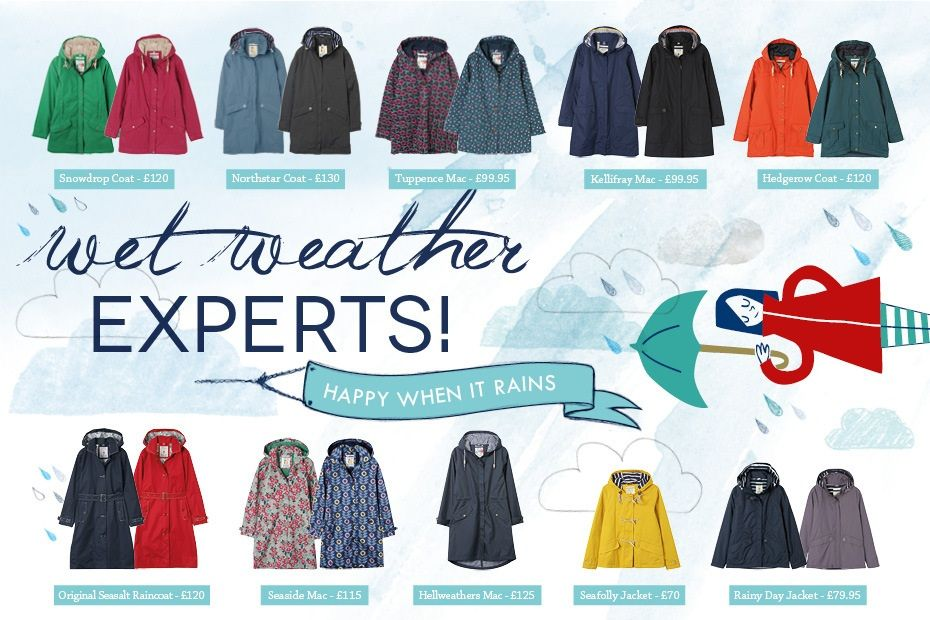 Guide to Our Seasalt RAIN collection