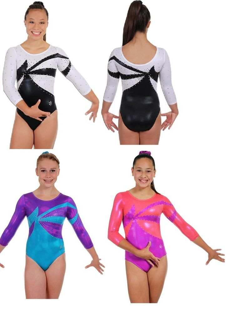 cc85aab0833c NEW!! Conquer Gymnastics Competition Leotard by Snowflake Designs ...