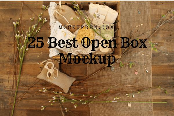 Download Open Box Mockup 25 Open Box Psd Box Mockup Box Design Templates Packaging Template Design