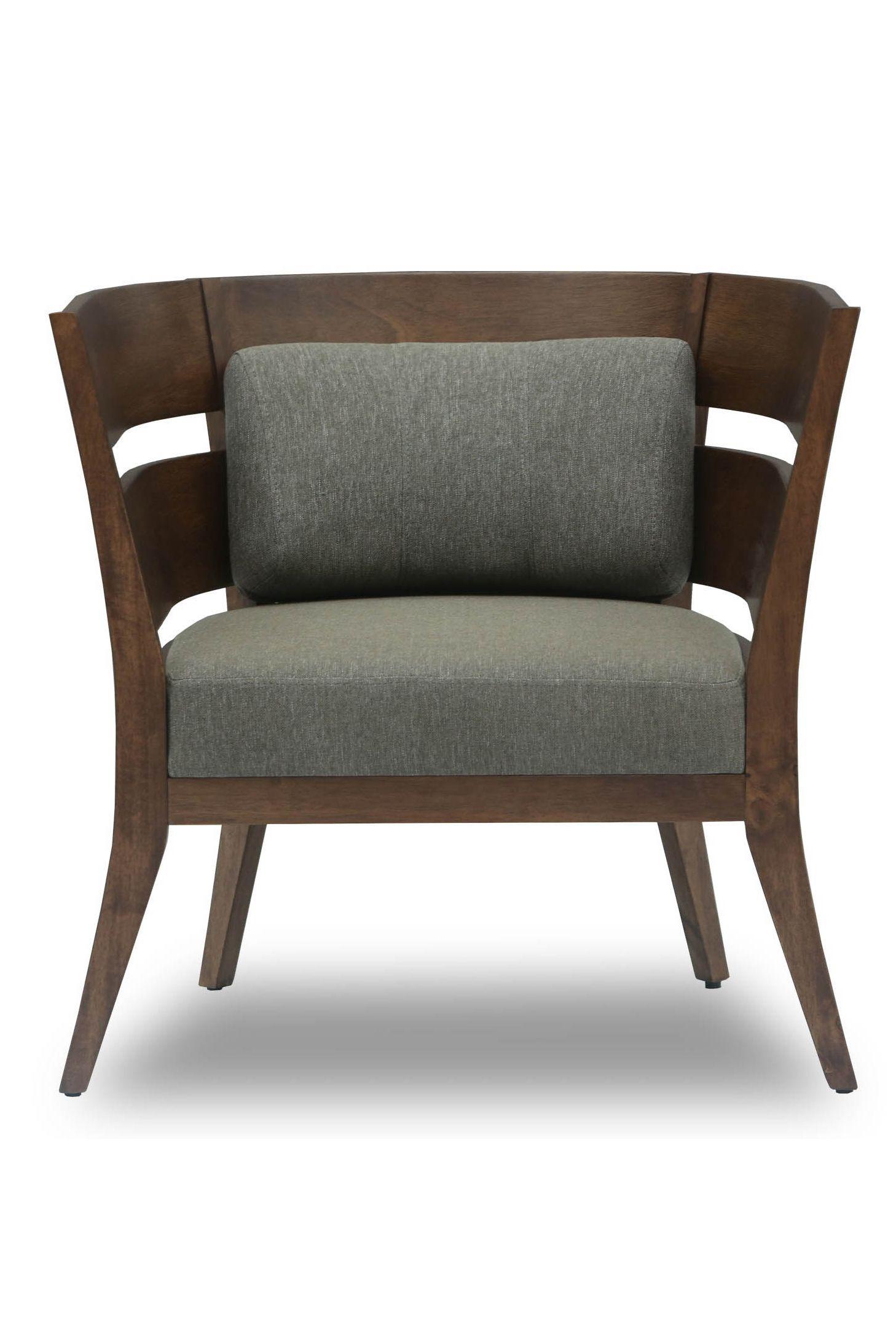 Mier Cocoa Lounge Chair Sillas Butacas Y Muebles De Cuero # Muebles Puro Cuero