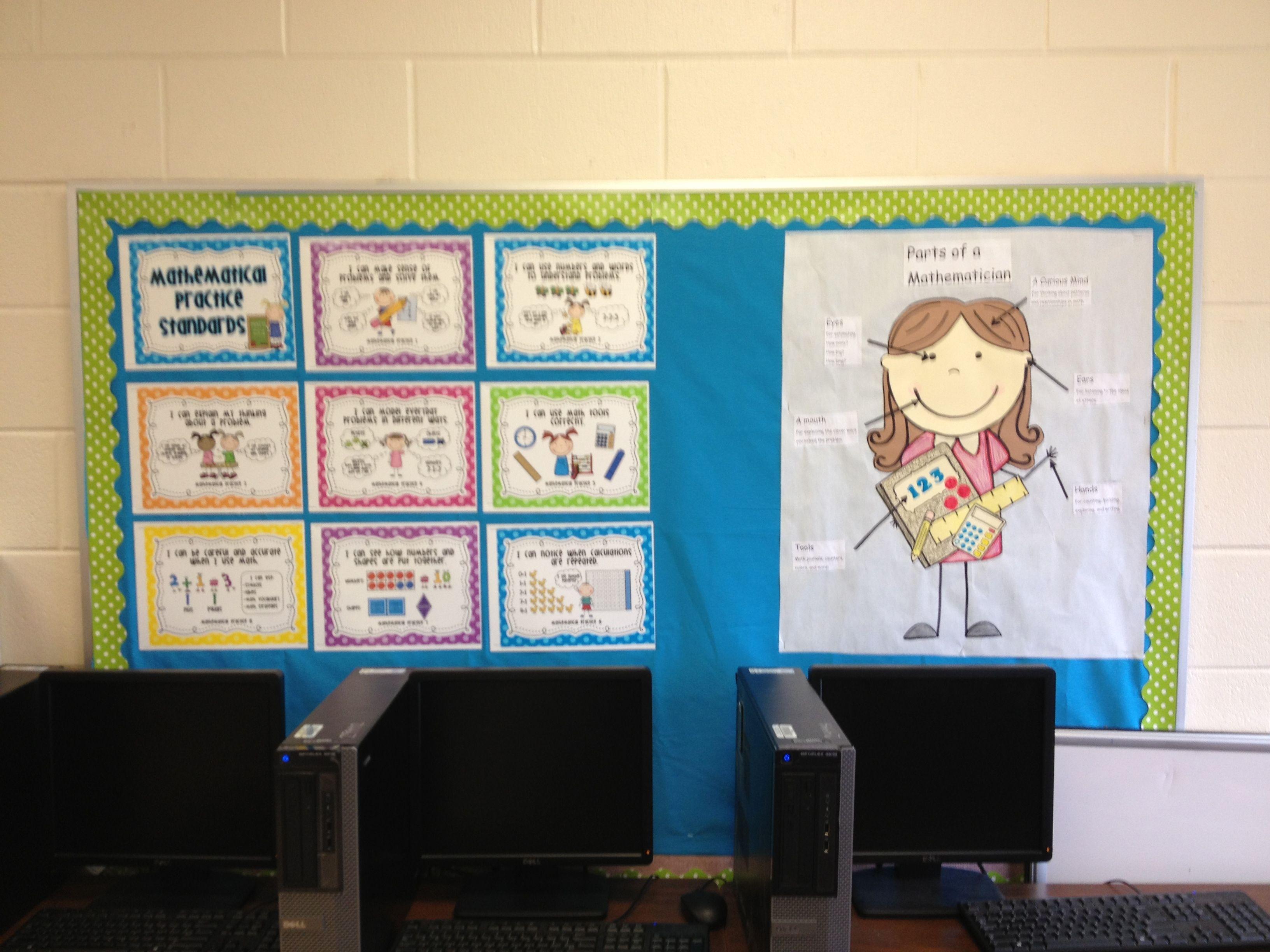Mathematical Practice Standards board | Kindergarten Math ...