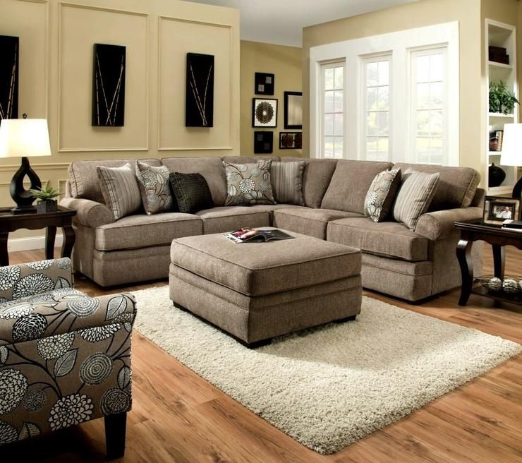 Macy Sectional Pewter Tan Furniture Living Room Furniture Tan Couch Living Room