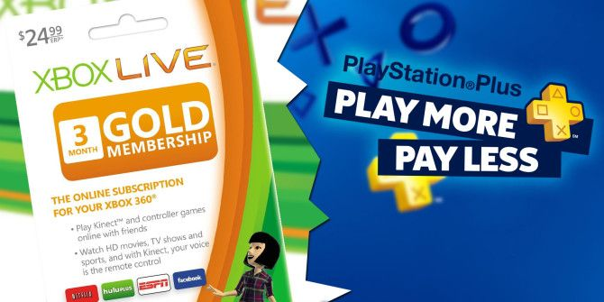 Xbox Live Vs Playstation Plus What Do You Get With Each Xbox Live Xbox Ps Plus