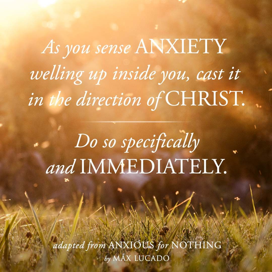 Inspirational Prayer Quotes: Anxious For Nothing