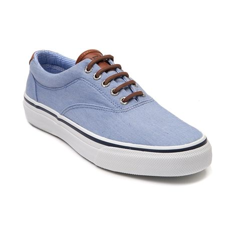 shop for mens sperry topsider striper casual shoe in blue