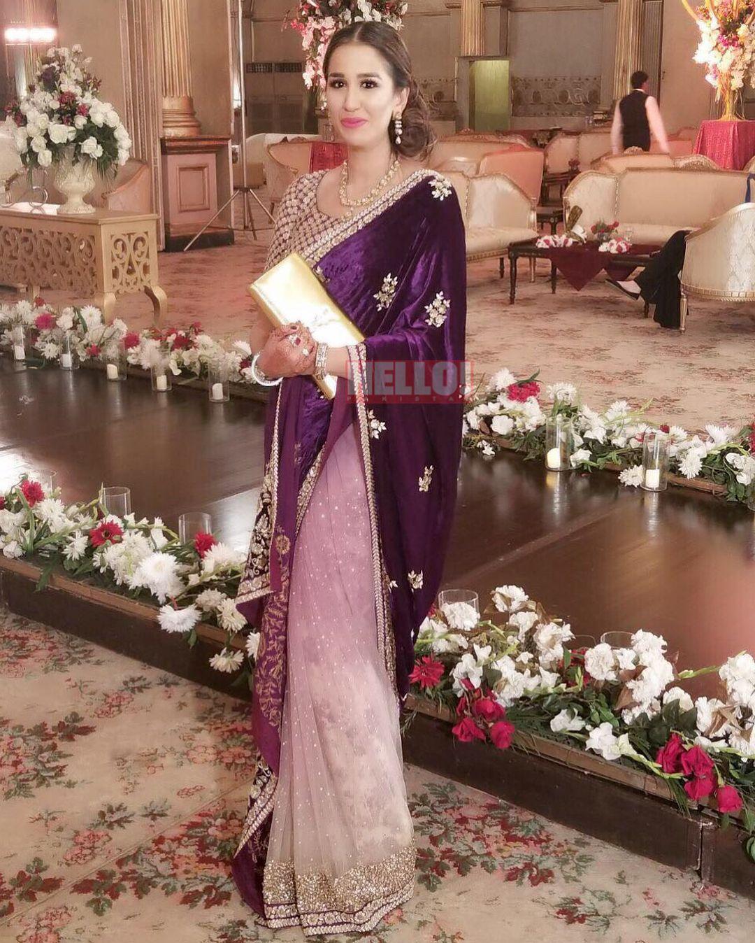 Purple sabyasachi saree desi wedding party dresses pinterest