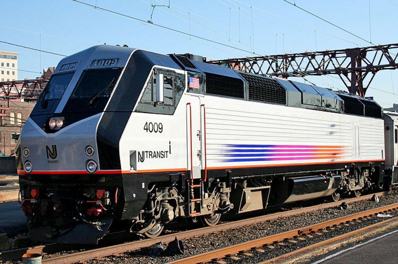 Vossloh Rail PL42AC locomotives were built for US passenger