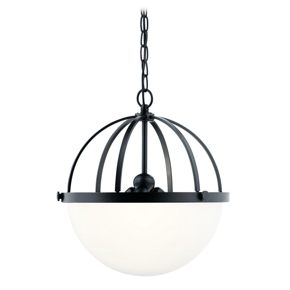 black pendant light kichler lighting