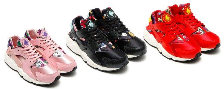 72fd1c255651 Nike Air Huarache Aloha  flowers  sneakers  nike