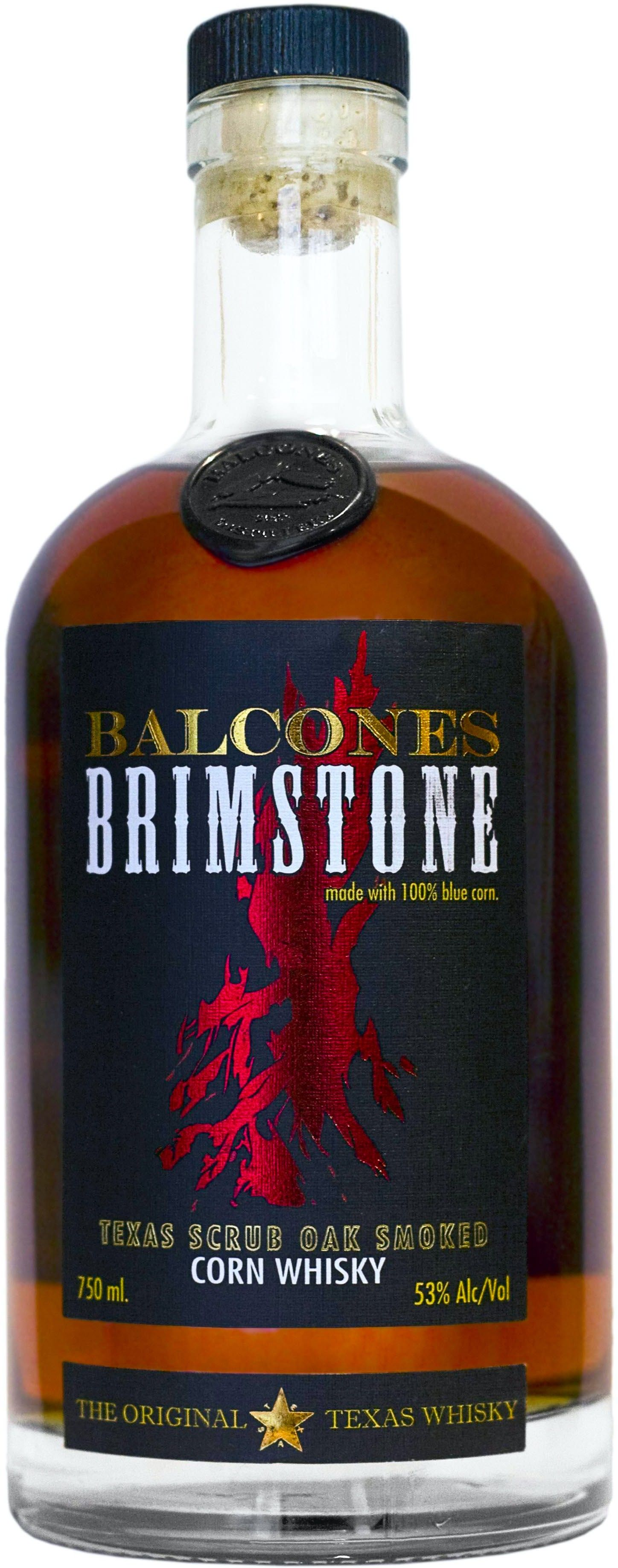 Caskers Selection Balcones Brimstone Corn Whisky Whiskey Distillery Whisky Whiskey