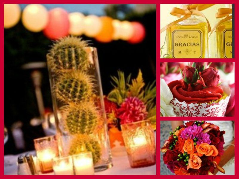 Palm Springs Wedding with Style, III | Mexican themed weddings ...