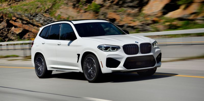 The 2020 Bmw X3 M Is Yet Another Physics Defying Super Suv Bmw X3 Bmw Suv