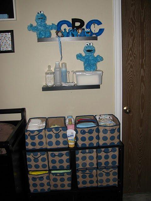 Cookie Monster Nursery