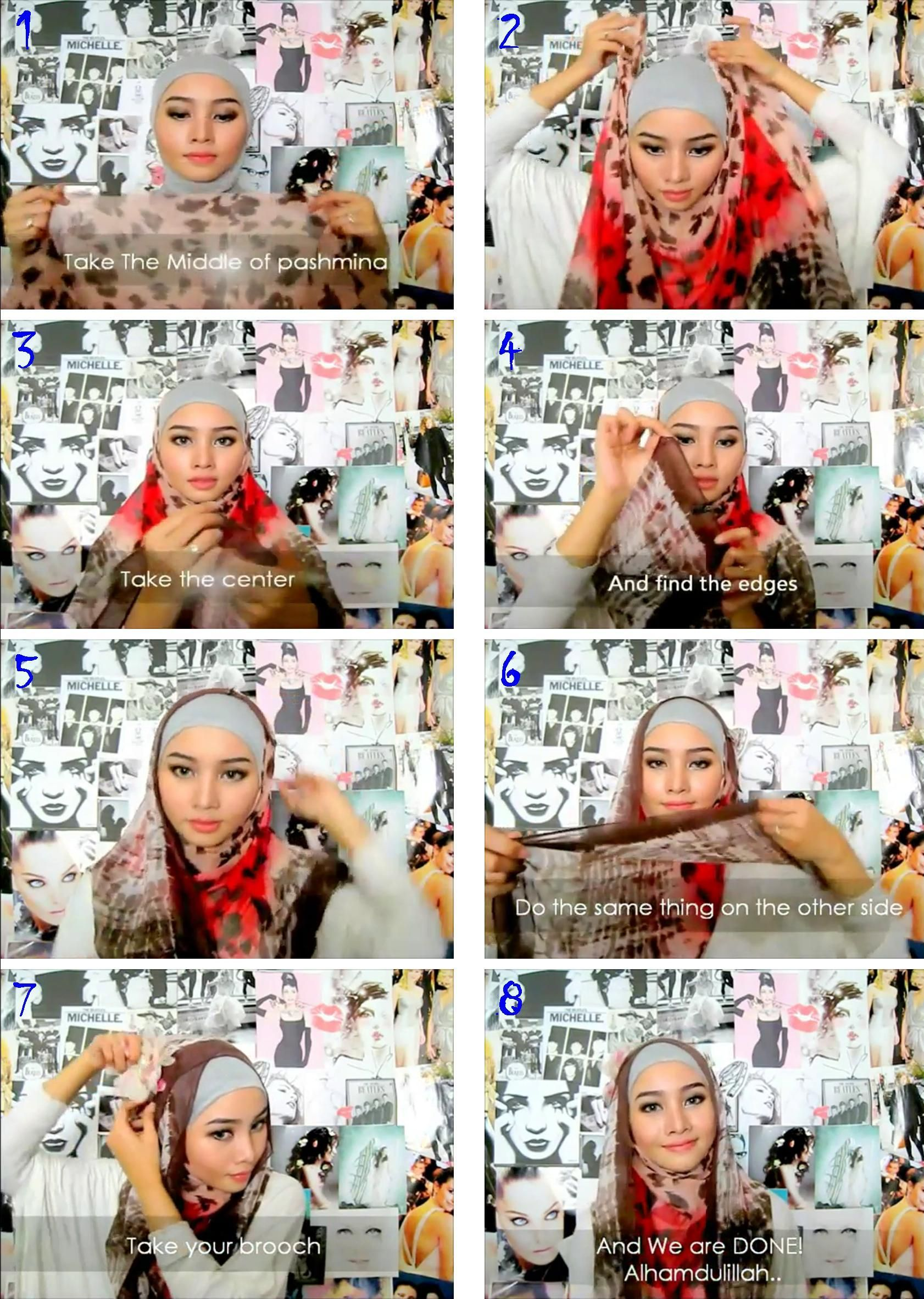 Tutorial By Irna Dewi Hijab Tutorials Pinterest Tutorials