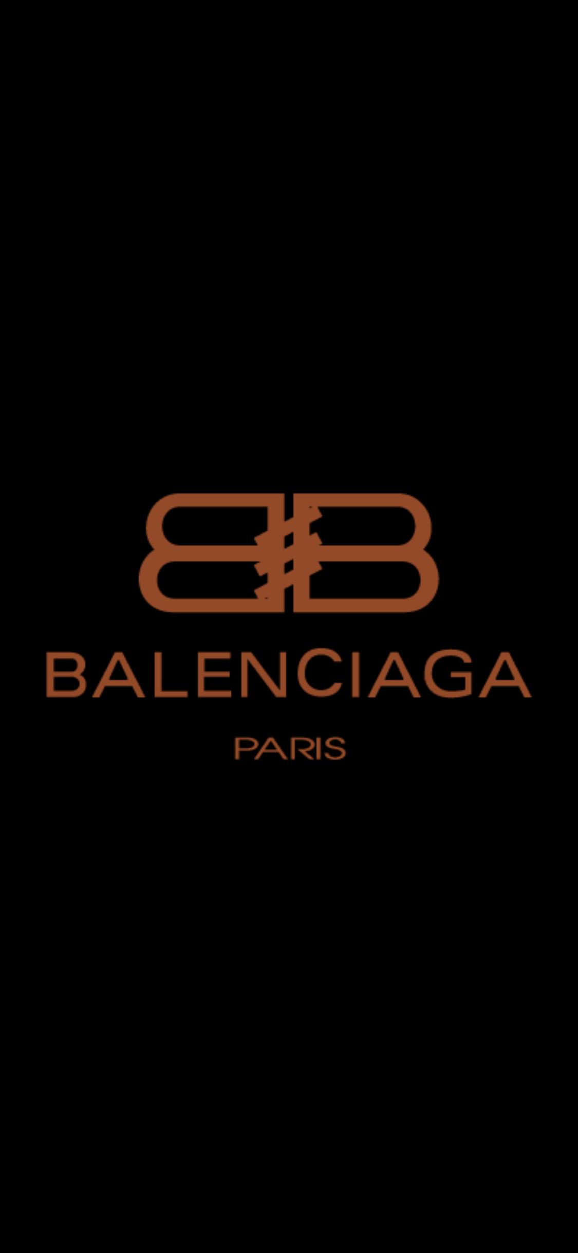 entre cristal bañera  BALENCIAGA Original House Logo | Fashion wallpaper, Iphone prints, Nike  poster