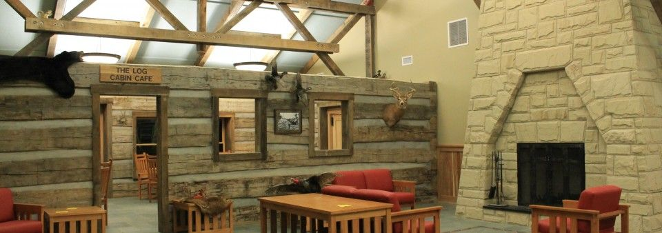The New Dining Lodge At Lake Hope State Park Is Open As Of Jan. 1