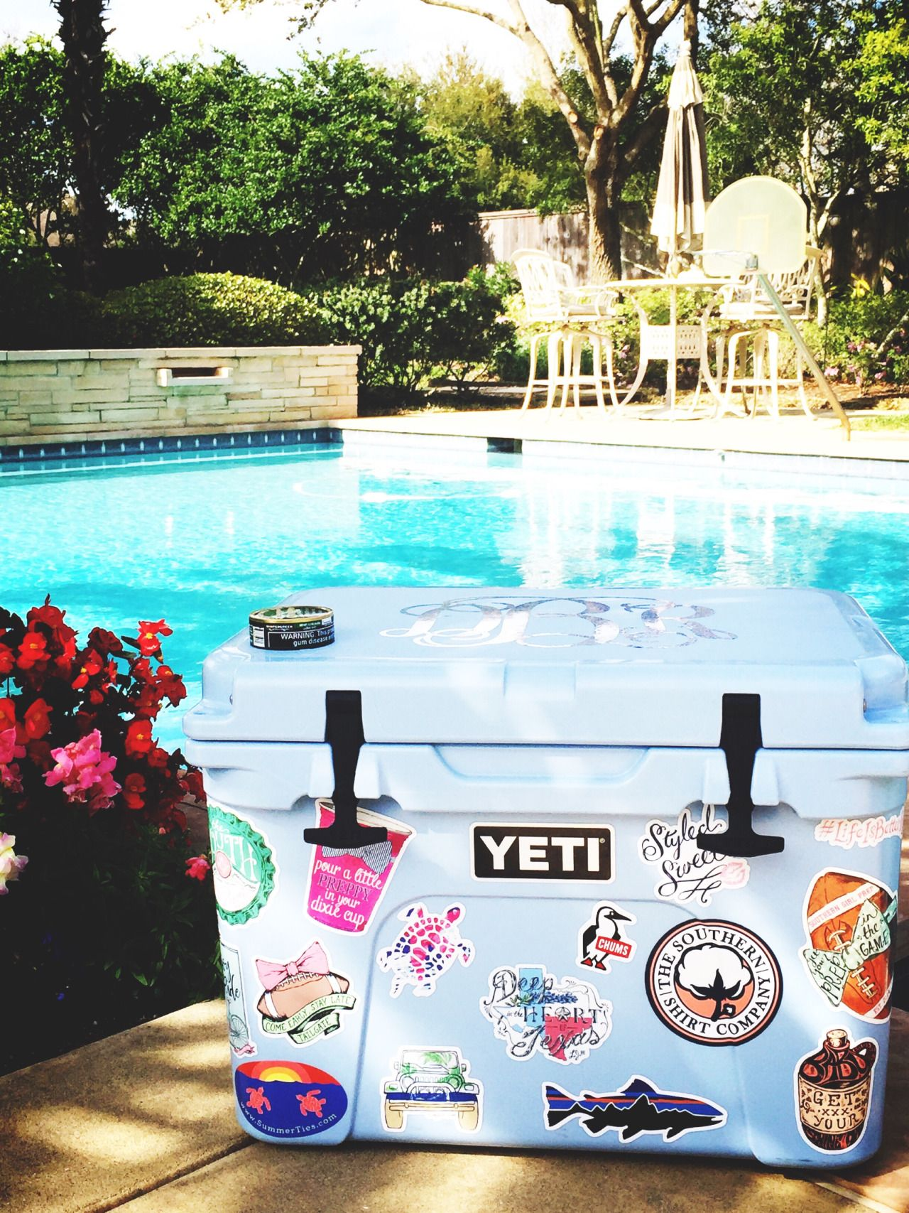 How To Get Stickers To Stick On A Yeti Cooler
