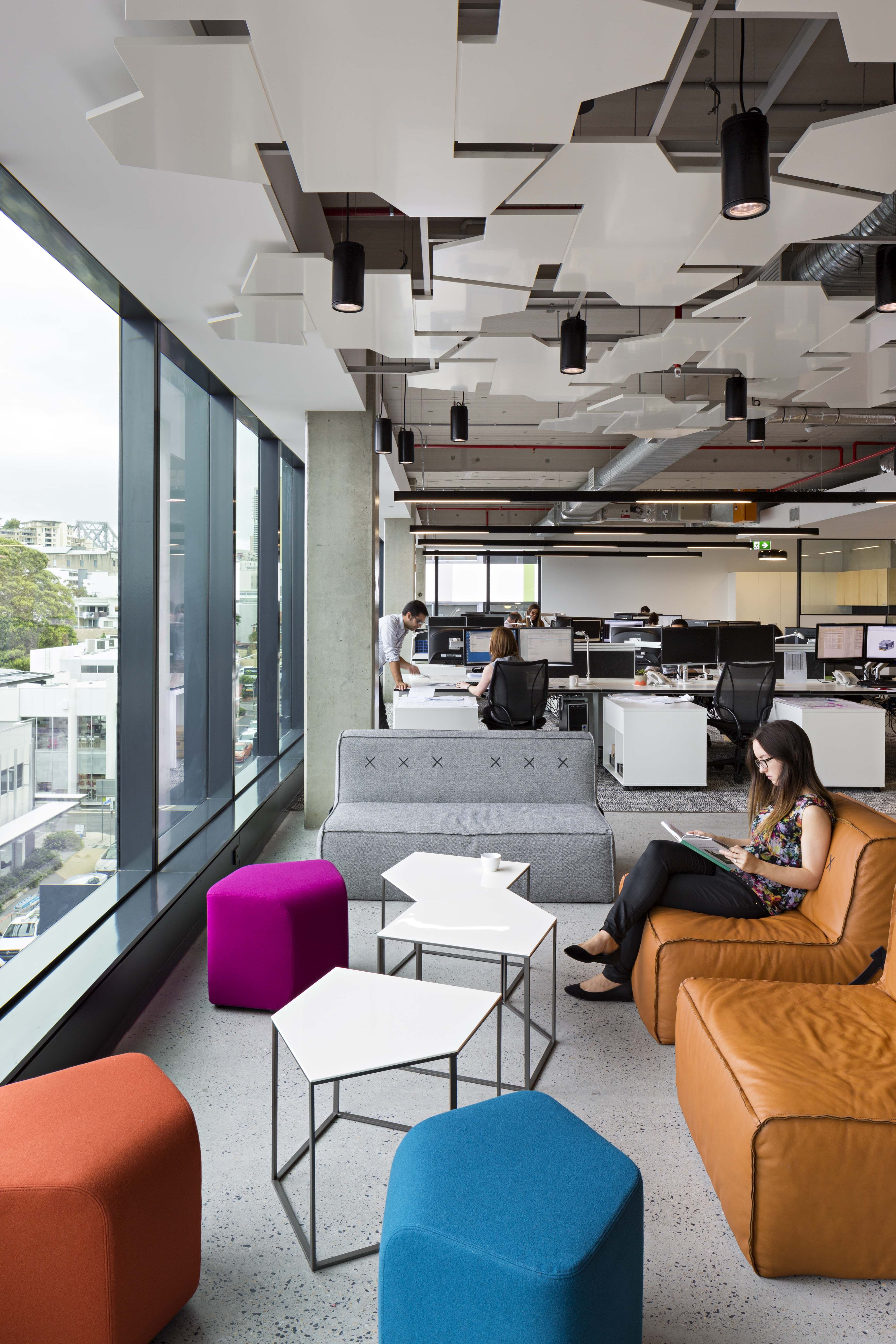 pdt architects pdt architects brisbane office interior design