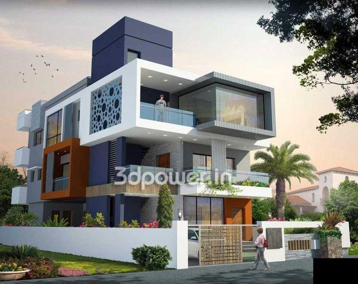 BUNGALOW DESIGN Modern Homes Pinterest Bungalow House And - Simple bungalow house design 3d