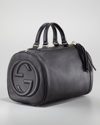 Gucci Soho Medium Boston Bag Black Neiman Marcus