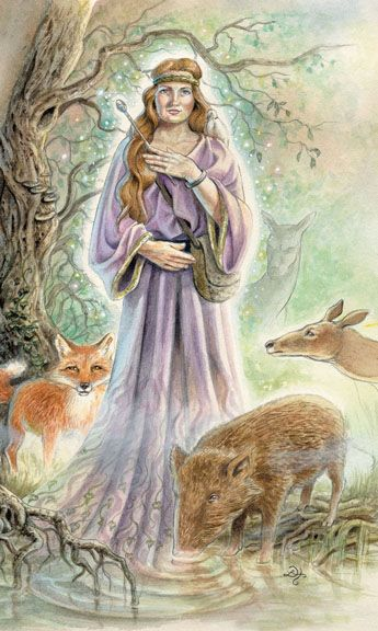 Animals Divine Tarot: Animals Divine Tarot - The Magician