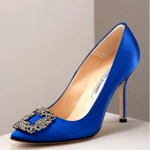 Manolo Blahnik. Classic. I really want to own these someday!