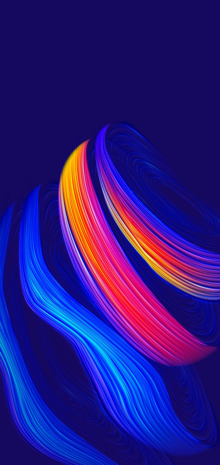 Abstract curves iPhone wallpapers in 2020 Iphone