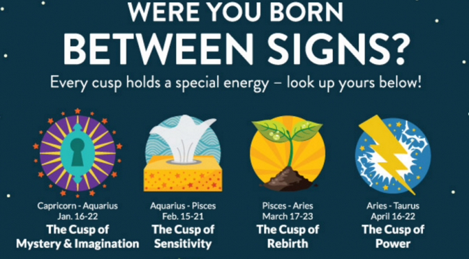 09ac00a75 Astrology Cusp - Born Between Two Signs | Blog | Astrology signs ...