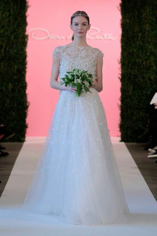 Bride Oscar de la Renta | Bride | Pinterest | Oscar de la Renta