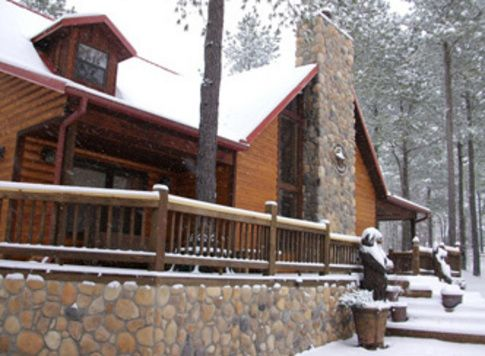 This Winter, Plan A Getaway To A Cabin In Southeast #Oklahoma. We Suggest